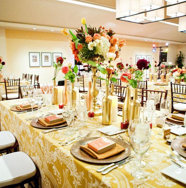 欧式婚礼甜点桌